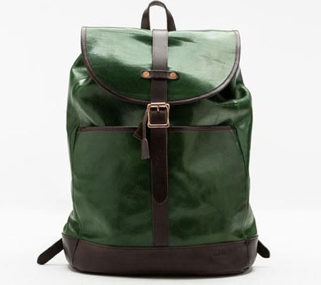 モブリス Aniline Leather Rucksack