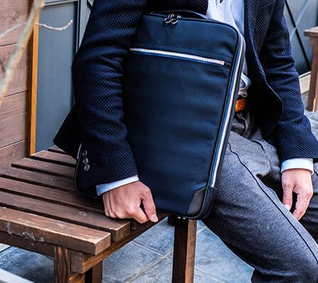 チマブエのバックパック グレースフル 4wayリュック スコッチガード加工レザー バッグパック Alasta 11077
