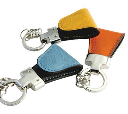 ヴィンテージのキーリング Key Clip Calf