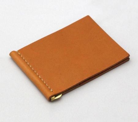 ドゥラムのマネークリップ カードポケット付きマネークリップ