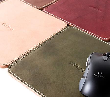ブラウンブラウンのマウスパッド