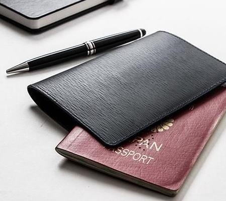 ジャン・ルソーのパスポートケース ソイエンボス カーフ パスポートケース
