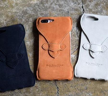 ロベル iPhone7Plus Case Water-repellent nubuck leather