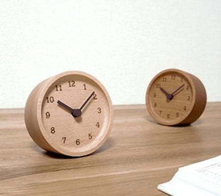 レムノス MUKU desk clock 置き時計