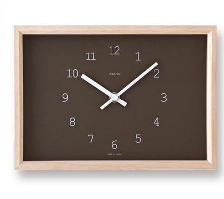 レムノス Kaede 置き時計