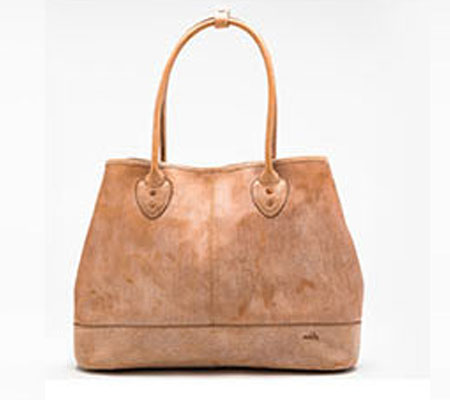 モブリス Wax Leather Tote Bag