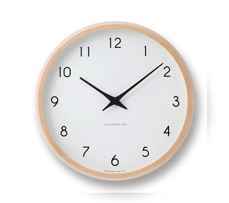 レムノス Campagne 電波時計 掛け時計