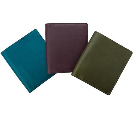 ヴィンテージの財布 oil leather