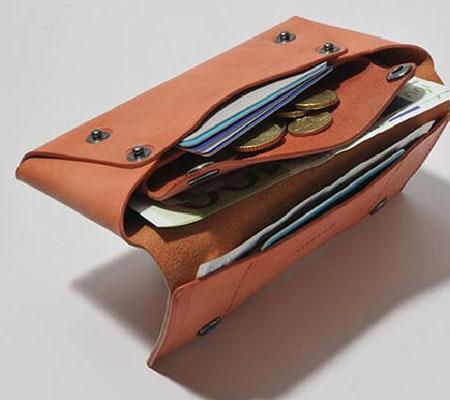 ファブリック コンパクト設計の長財布 LONG WALLET