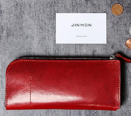 ジンモン GADGET L-ZIP Large 財布