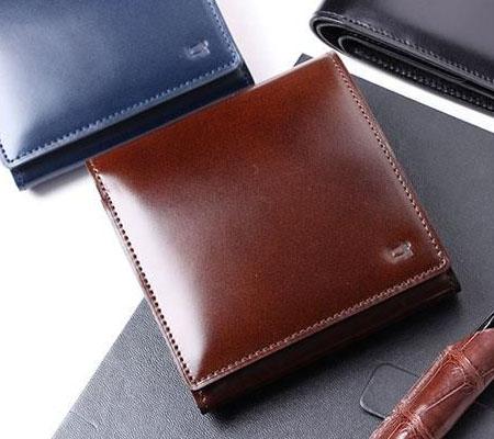 レディオアオーダーの財布 GLAMOROUS STANDARD 二つ折り財布
