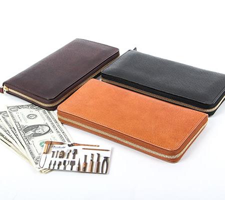 デシベルの財布 ラウンドファスナー財布(ロング)
