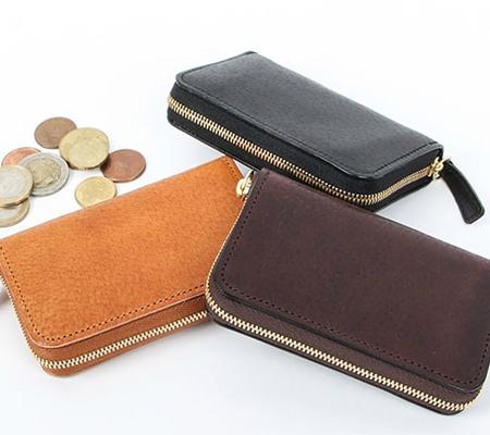 デシベルの財布 ラウンドファスナー財布(ミニ)