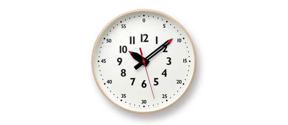 レムノス fun pun clock L 掛け時計