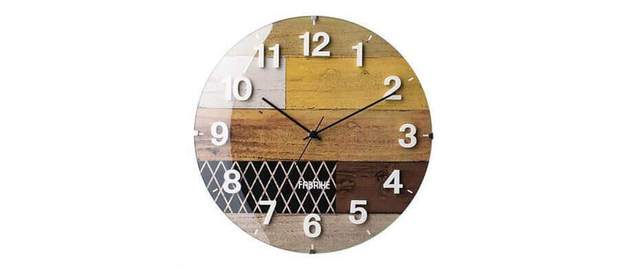インターフォルム Clifden 電波時計 壁掛け時計