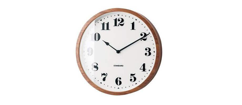 インターフォルム Twedt  電波時計 壁掛け時計