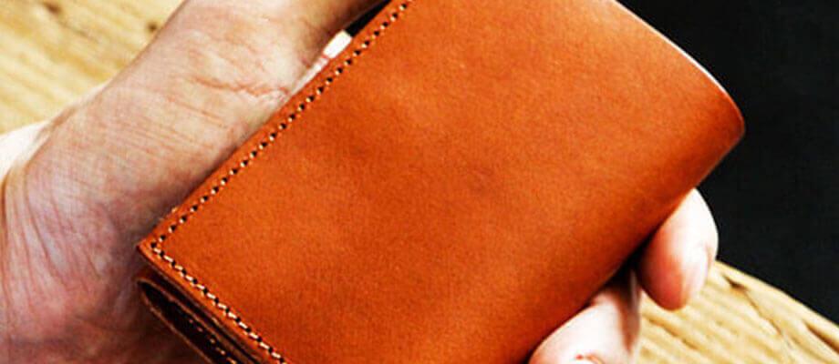 dd0a1a3d8603 エムピウのコンパクト財布 ストラッチョ リスシオ ブッテーロ プエブロ