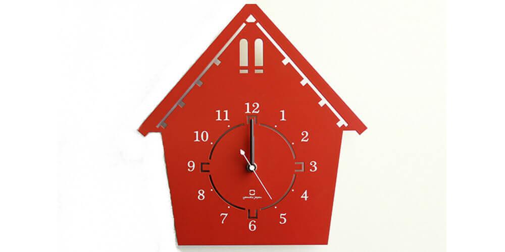 ヤマト工芸の掛け時計 DOUWA house S