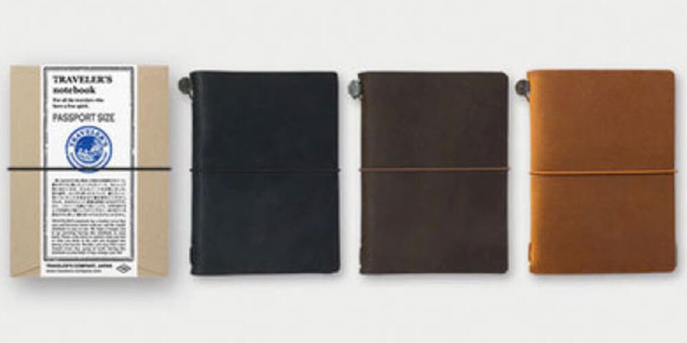ミドリ トラベラーズノート パスポートサイズ 手帳カバー