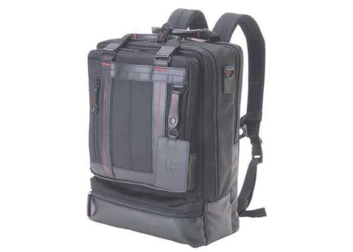 ヒデオワカマツのバックパック フィールド2 縦型3WAYビジネスバッグ