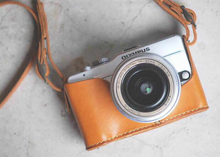 ロベル カメラホルダー E-PL1 ホルダー&ストラップ レギュラータイプ