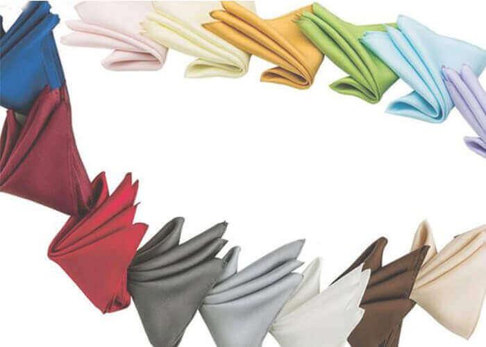 エクシィのポケットチーフ 日本製シルク100%ポケットチーフ