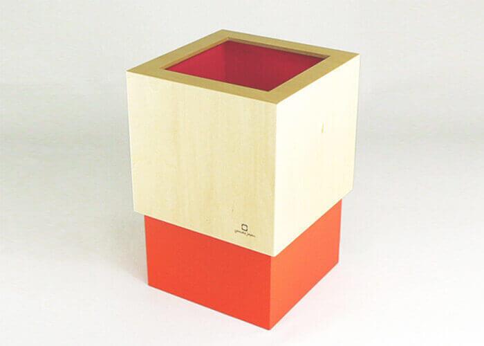 ヤマト工芸のゴミ箱 W CUBE M