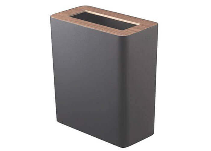山崎実業のゴミ箱 トラッシュカン リン 角型