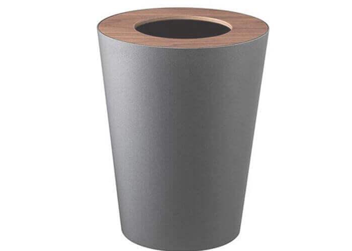 山崎実業のゴミ箱 トラッシュカン リン 丸型