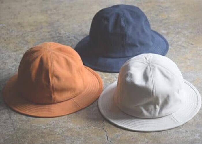 ロベルのハット Water repellent Nuback Leather Hat