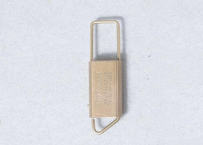 タイニーホームド キーホルダー Tiny metal key fold