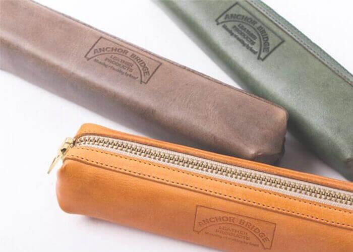 アンカーブリッジ Pen Case ペンケース Waxed Leather