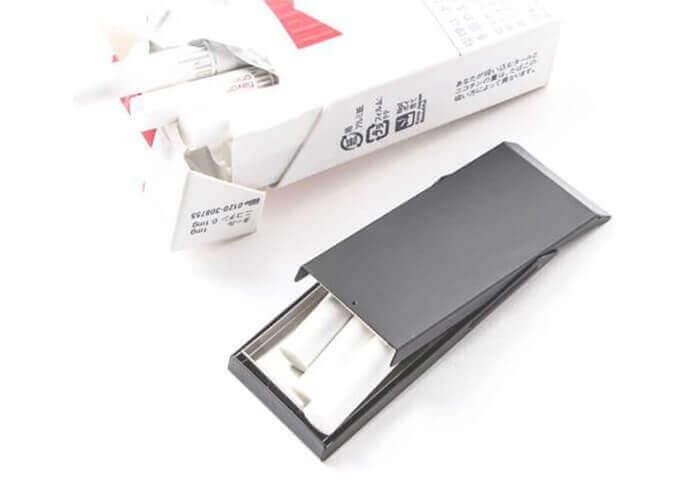パクラウストルム 携帯灰皿 アッシュフラットナー ブラックマット