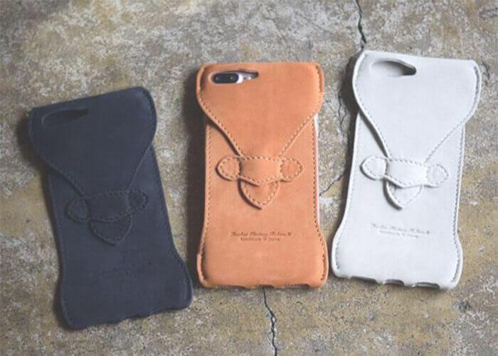 ロベル スマホケース iPhone7Plus Case Water-repellent nubuck leather