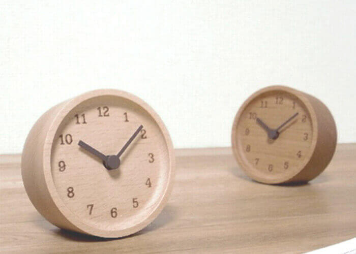 レムノスの置時計 MUKU desk clock