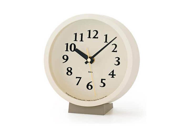 レムノスの置時計 m clock 電波時計