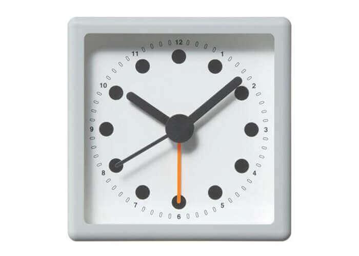 プラマイゼロの置き時計 2.5R アナログアラームクロック