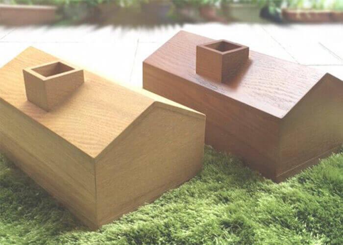 アーノット アトリエのティッシュケース HOUSE TISSUE BOX