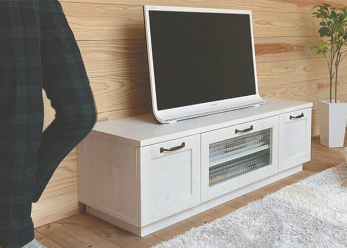 佐藤産業のテレビボード EVANローボード