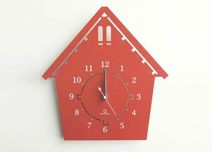 ヤマト工芸の掛け時計 DOUWA house Sサイズ
