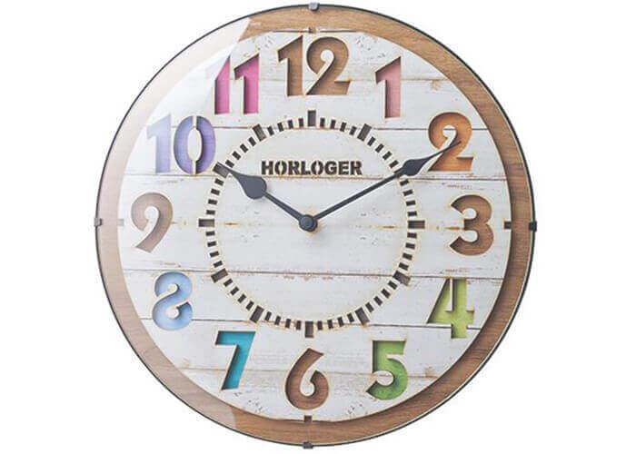 インターフォルムの掛け時計 FORLI