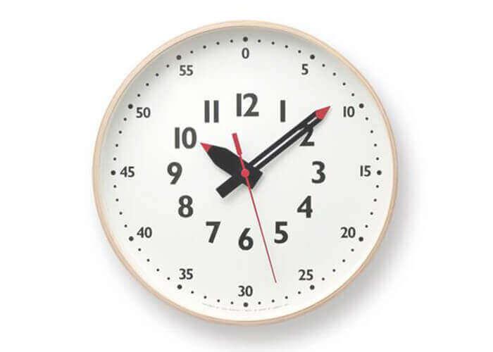 レムノスの掛け時計 fun pun clock M
