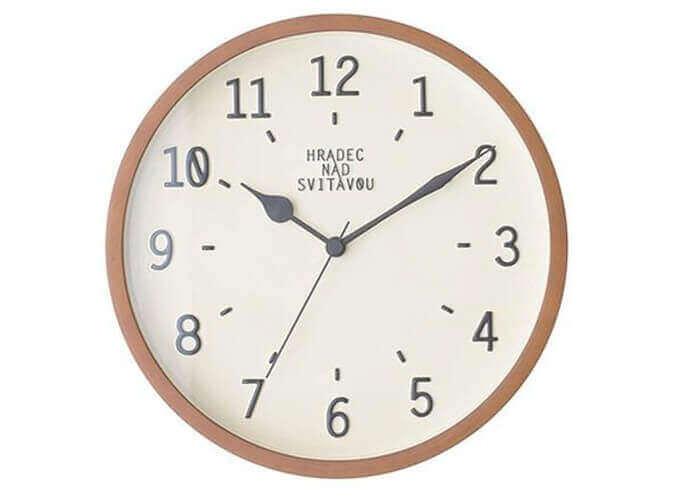 インターフォルムの掛け時計 Norsjo