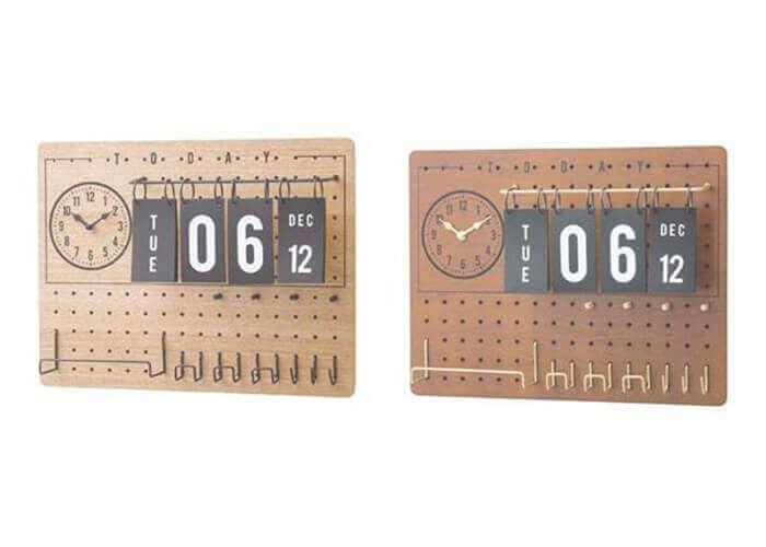 インターフォルムの掛け時計 Lidgate