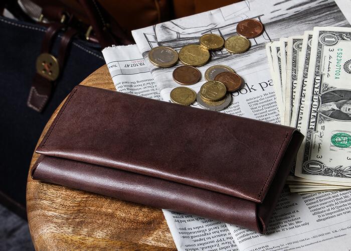 ファブリック 長財布