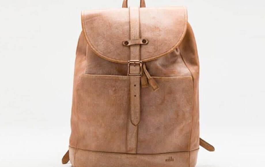 モブリスのバックパック Wax Leather Rucksack