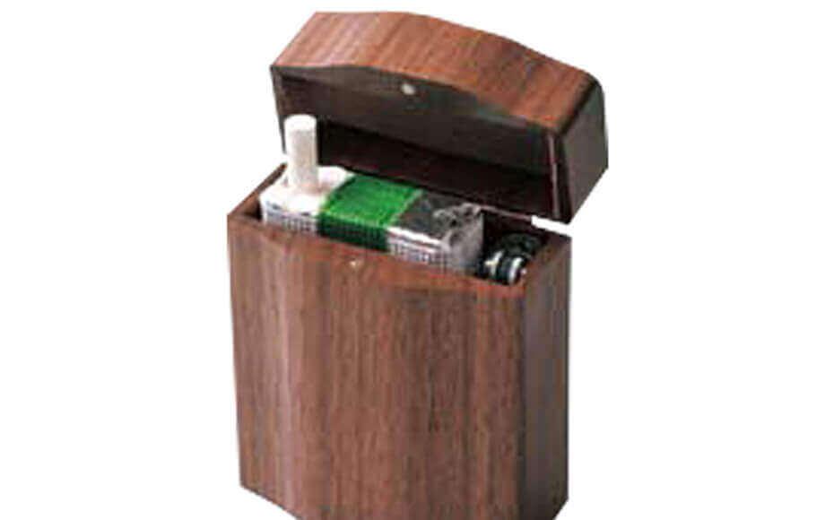 ササキ工芸のシガーケース ササキ工芸の木製タバコケース・ワイド