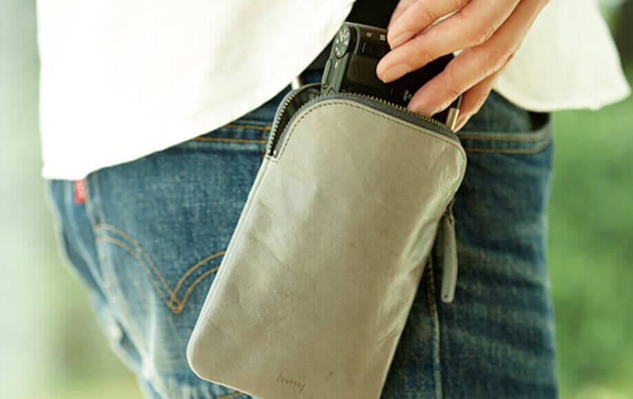 ヘンニーのモバイルケース 1マイルバッグ