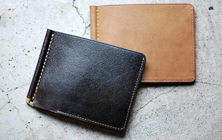 アンカーブリッジのマネークリップ Short Wallet