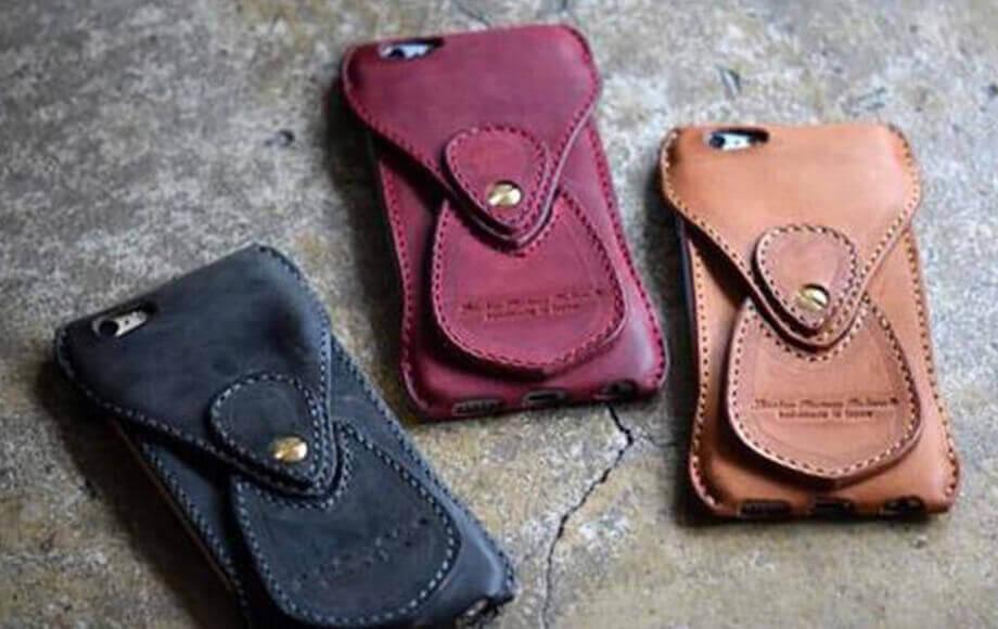 ロベルのスマホケース Shading Leather iPhone6s/6 Case